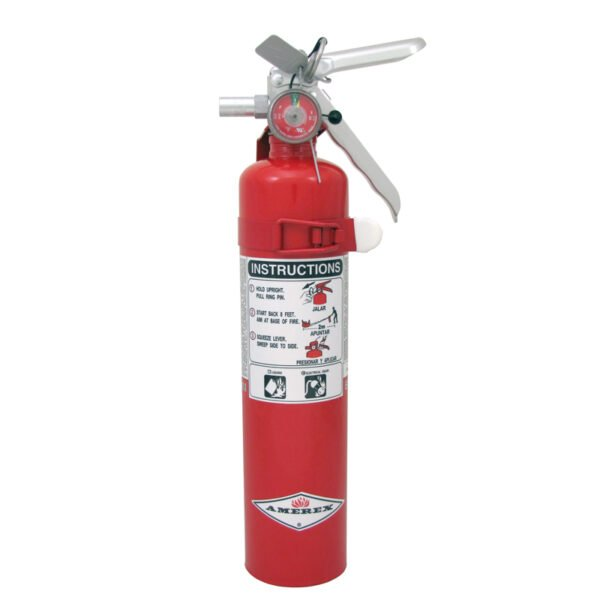 BC dry chemical 2.5lb fire extinguisher