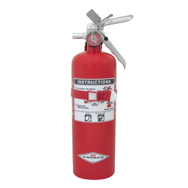 BC dry chemical 5lb fire extinguisher