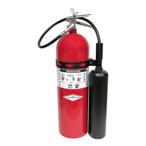 CO2 10lb fire extinguisher