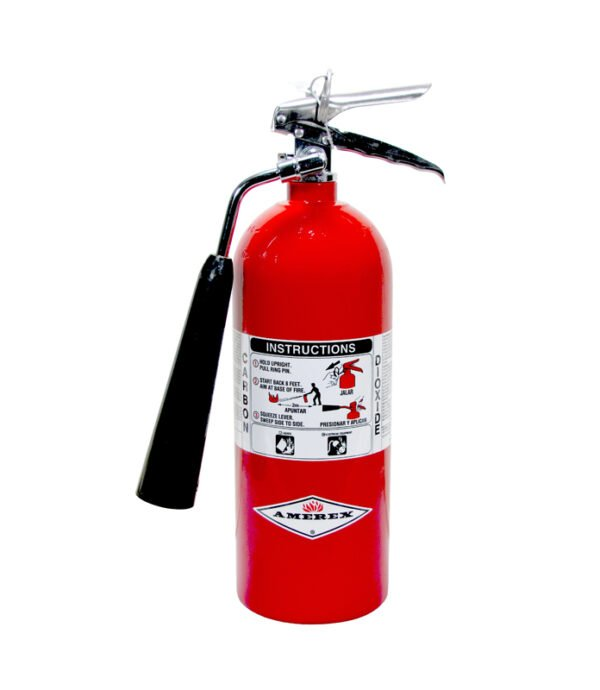 CO2 5lb fire extinguisher