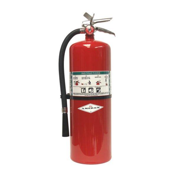 Halotron 10lb fire extinguisher