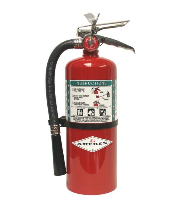 Halotron 5lb fir extinguisher