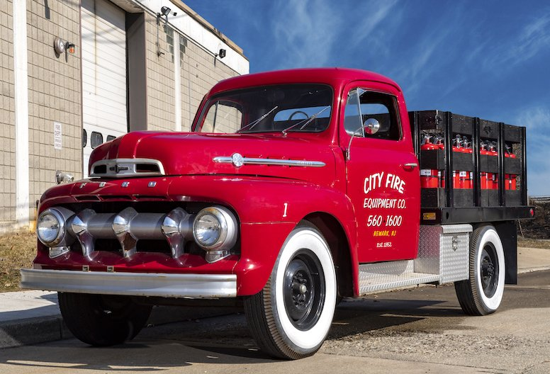 Historic City Fire truck