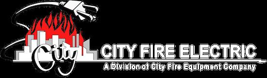 City Fire Electric Logo